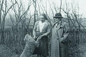 Barbara Bernatowicz w Niborku 1946 roku