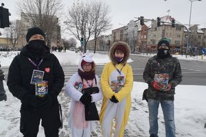 Trwa Wieli Finał. Wolontariusze od rana są na ełckich ulicach