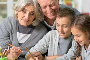 Babcia i Dziadek to nasz prawdziwy skarb