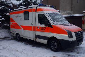Nowa karetka dla szpitala w Biskupcu.