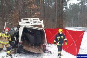 Policja podsumowała wczorajszy śmiertelny wypadek w Lidzbarku
