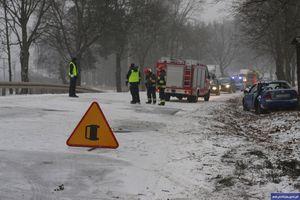 19-letni mieszkaniec gminy Działdowo podróż samochodem zakończył w rowie