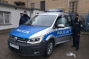 Nowy radiowóz w służbie mrągowskiej policji