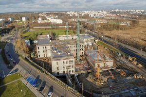Trwa budowa nowej siedziby dwóch wydziałów UWM
