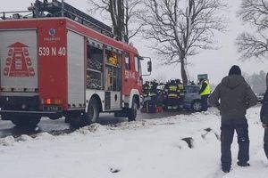Jeden wypadek i pięć kolizji na drogach w czasie weekendu
