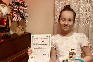Anastazja i Zosia zostały wyróżnione w konkursie wokalnym on line