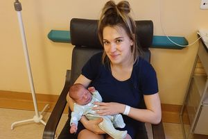 Pola i Lucek - noworoczne maluchy z nowomiejskiego szpitala