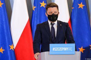Trwa konferencja ministra Michała Dworczyka. Co zmieni się w harmonogramie szczepień?