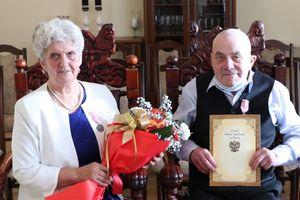 Długoletnie małżeństwo - państwo Sadowscy z Susza