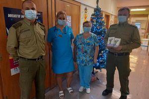 Prezenty trafiły na oddział dziecięcy szpitala powiatowego