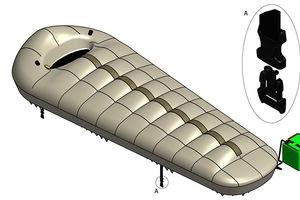 Termiczny śpiwór chroniony patentem