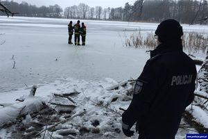 Chłopak o mało nie utonął w jeziorze Skiertąg