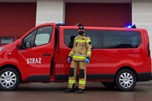 Strażacy dowiozą seniorów i osoby niepełnosprawne na szczepienia przeciwko COVID-19
