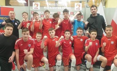 FUTSAL   Constract wicemistrzem Polski kategorii U-15!
