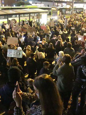 Sąd uchylił mandaty karne nałożone na uczestników protestu w Olsztynie