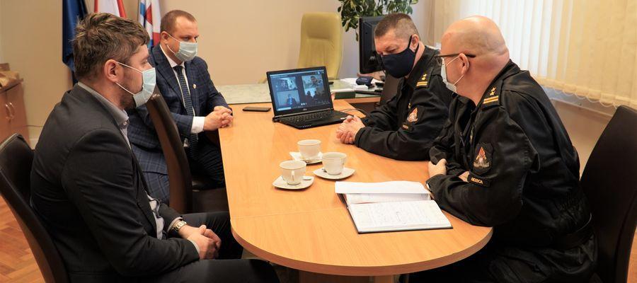 Spotkanie, samorządowcy, powiat nidzicki