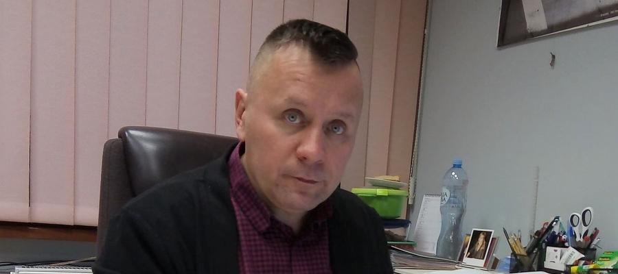 Jarosław Piechotka, dyrektor Centrum Sportu i Rekreacji w Suszu