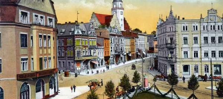Pocztówka z ok. 1917 r.
