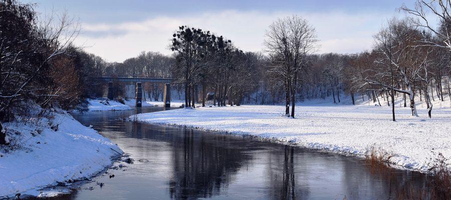 Łyna w Bartoszycach