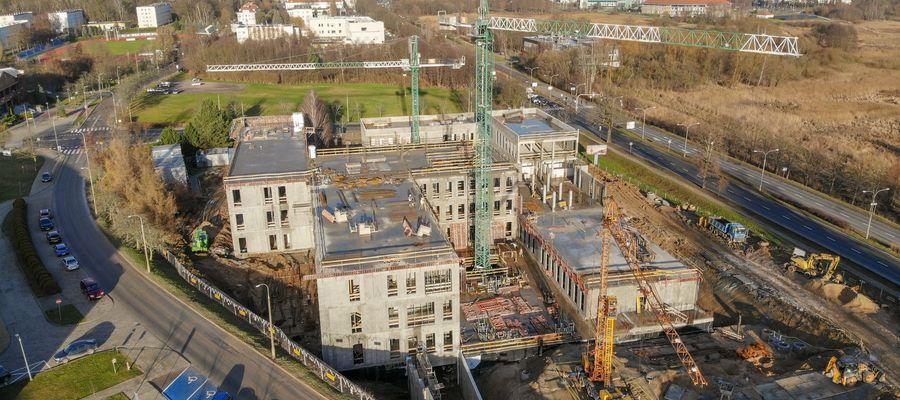 Budowa nowej siedziby dla dwóch wydziałów UWM