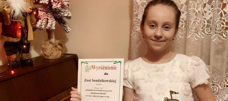 Zadowolona Zosia Sendzikowska