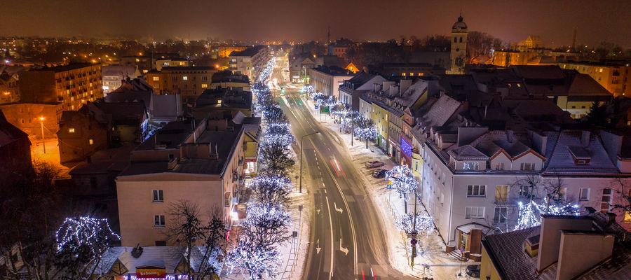 Najpiękniej rozświetlone miasto w Polsce. Możemy to mieć