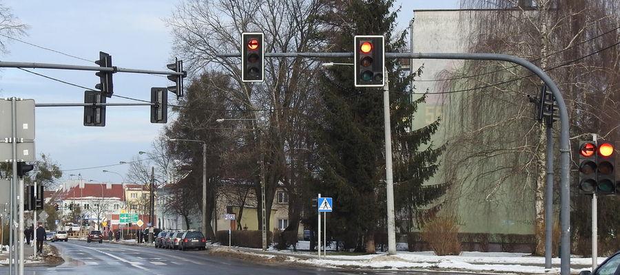 Sygnalizacja na skrzyżowaniu Czernieckiego, 21 Stycznia i Chrobrego już działa