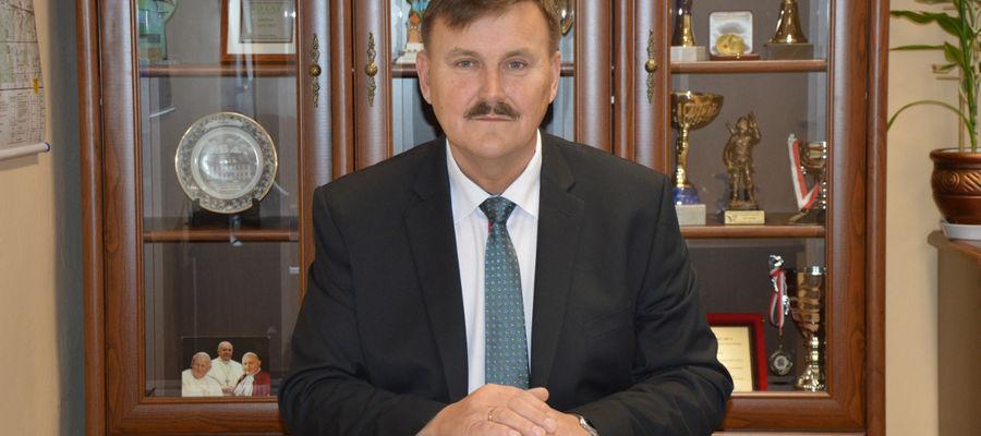 Wójt gminy Janowo Grzegorz Napiwodzki