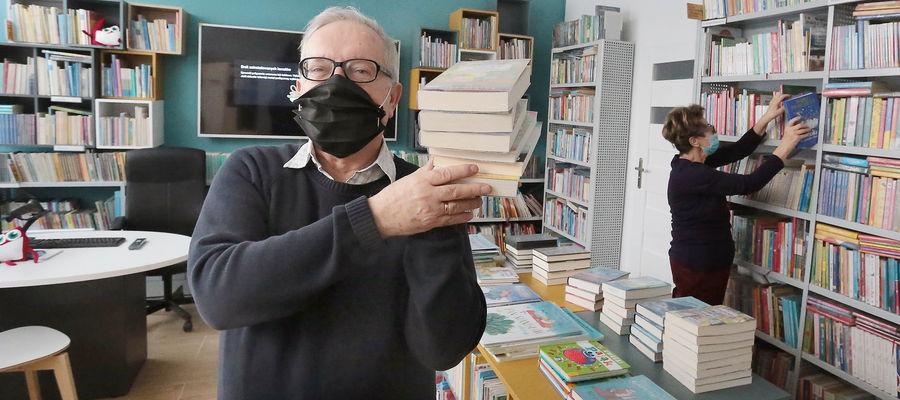 Waldemar Goncerzewicz: W ubiegłym roku odnotowaliśmy około 2200 czytelników