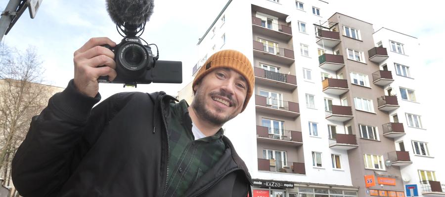 Szymon Żyliński zrealizował film o pierwszym olsztyńskim wieżowcu