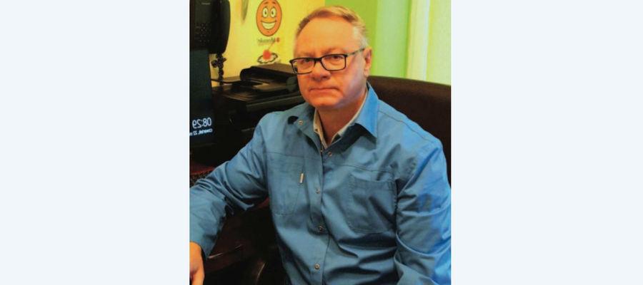 Józef Nowakowski, kierownik miejskiego Ośrodka Zdrowia w Lubawie