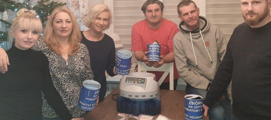 W ciągu miesięcznej akcji internetowej udało się zebrać dla piskiego szpitala 15 110 złotych