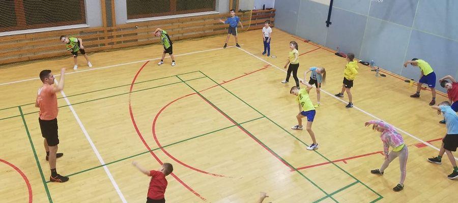 Kilkunastoosobowa grupa najmłodszych zawodników Morlin w ferie będzie trenować dwa razy dziennie