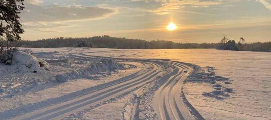 Trasy jeszcze czekają na biegaczy narciarskich na Wzgórzach Dylewskich