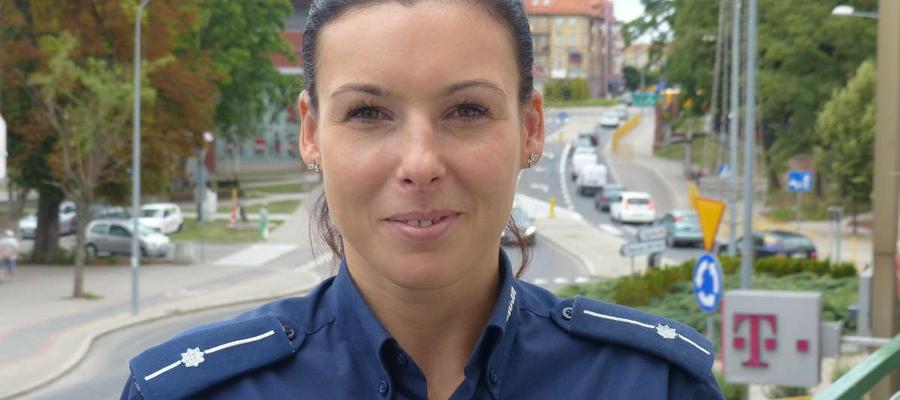 O agresji w szkole, na ulicy a także o cyberprzemocy rozmawiała z uczniami asp. Kwiatkowska