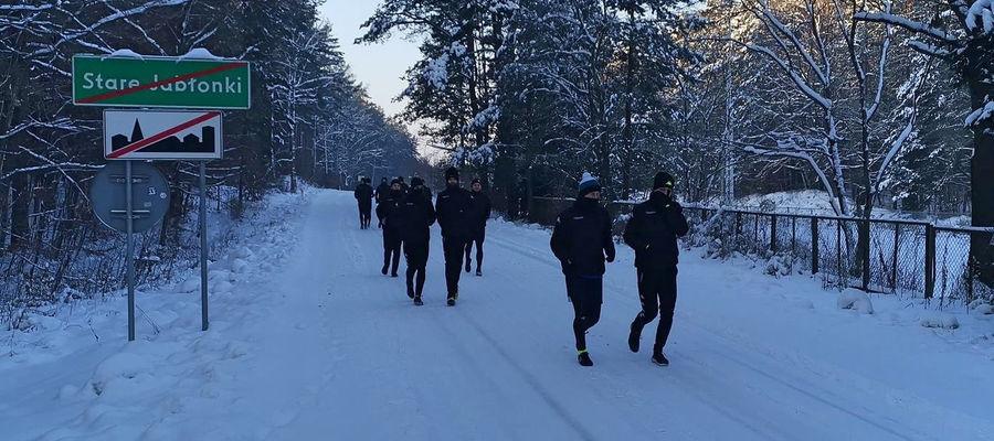 Piłkarze Sokoła Ostróda trochę pobiegali w tym tygodniu