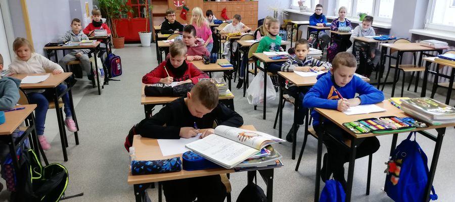uczniowie Szkoły Podstawowej nr 2 w Mławie