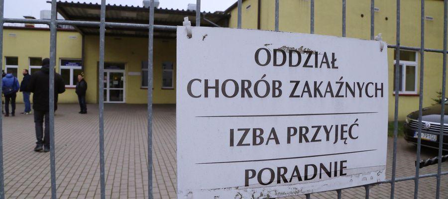 Szczepienia będą prowadzone m.in. w szpitalu w Ostródzie
