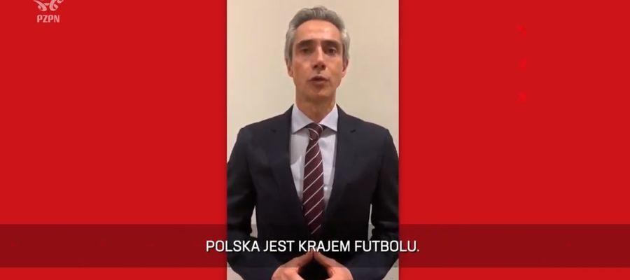 Paulo Sousa, nowy trener reprezentacji Polski
