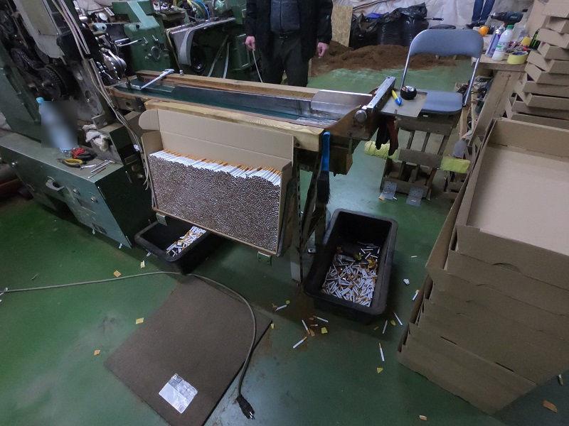 Przydomowa fabryka papierosów