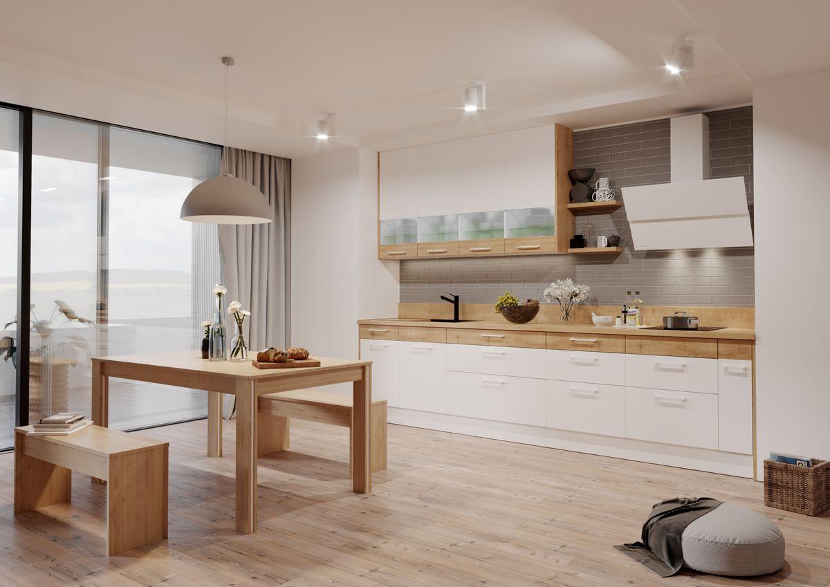 Drewno w kuchni: moda, która nie przemija - full image