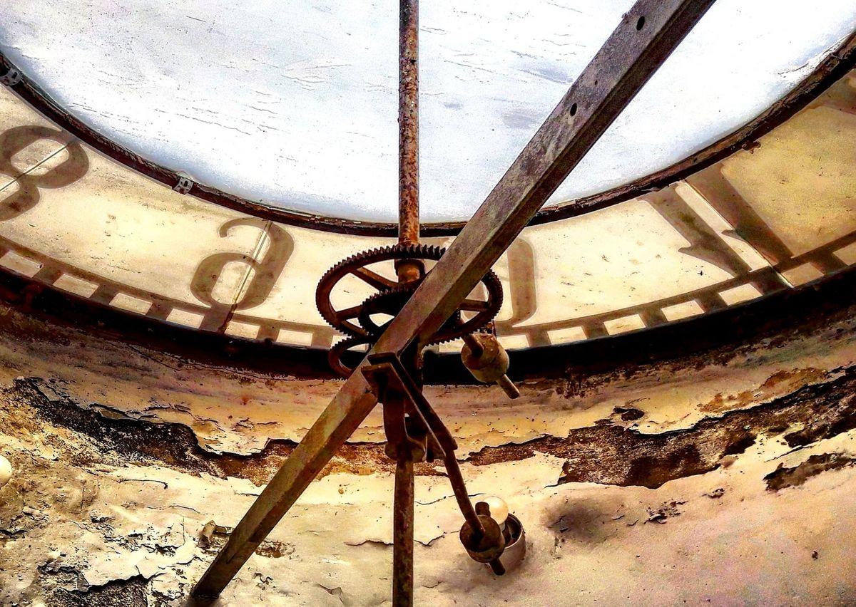 Zegar w wieży ratuszowej, Olsztyn
