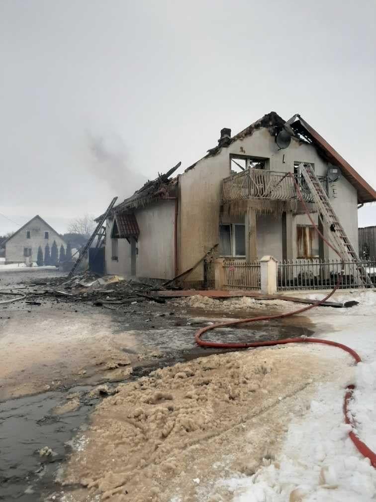 Pożar w Kierwinach