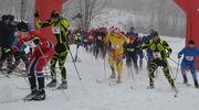 Półmetrowa pokrywa śniegu jest na Górze Dylewskiej, można biegać na nartach