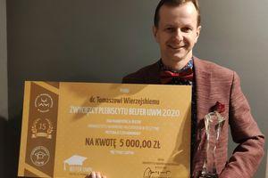 Dr Tomasz Wierzejski, Belfer UWM 2020: Nauczyciel musi być jak aktor i lekarz [ROZMOWA]