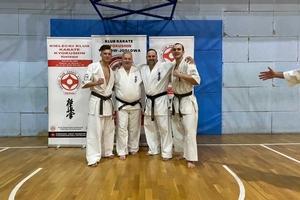 Karatecy z Dojo Sosnowski wyróżnieni na ogólnopolskim egzaminie