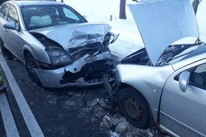 Wypadek koło Rynu. Cztery osoby trafiły do szpitala