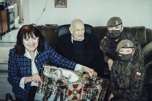 Terytorialsi z Braniewa pamiętali o urodzinach bohatera