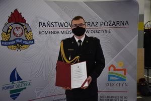 Powołanie Zastępcy Komendanta Powiatowego PSP w Działdowie