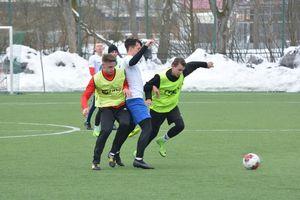 Czarni szlifują formę przed piłkarską wiosną
